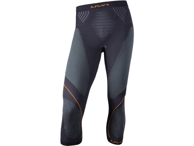UYN Evolutyon UW Medium Pants Herre charcoal/green/orange shiny